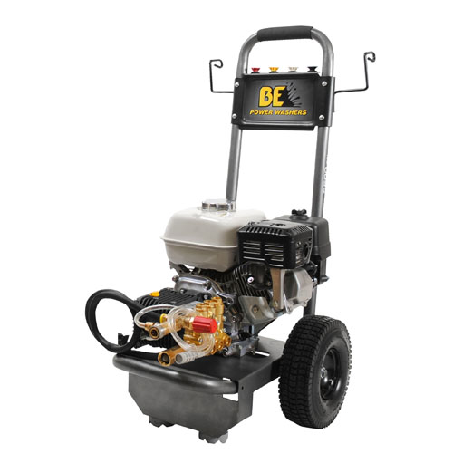 BE Pressure Supply B2565HAS B-Frame Pressure Washer 2500psi 3gpm Honda gas engine