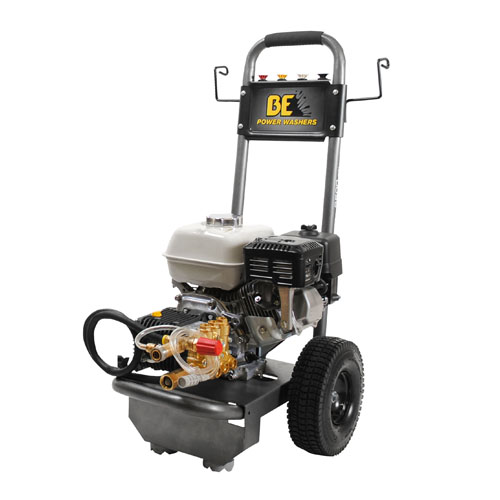 BE Pressure Supply B2565HCS B-Frame Pressure Washer 2500psi 3gpm Honda gas engine