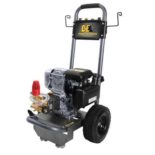 BE Pressure Supply B275HA B-Frame Pressure Washer 2700psi 2.3gpm Honda gas engine