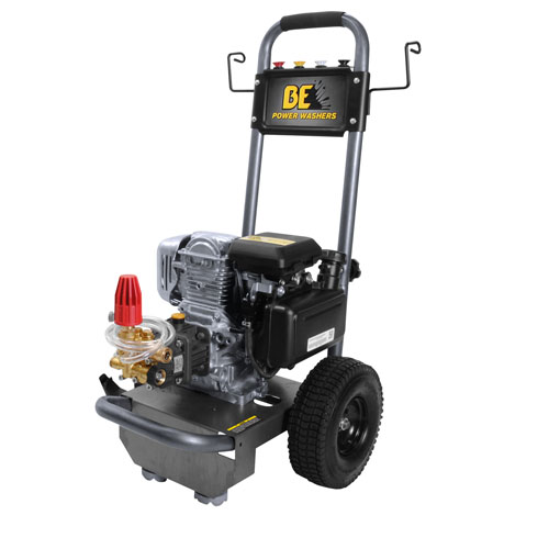 BE Pressure Supply B275HX B-Frame Pressure Washer 2700psi 2.3gpm Powerease gas engine