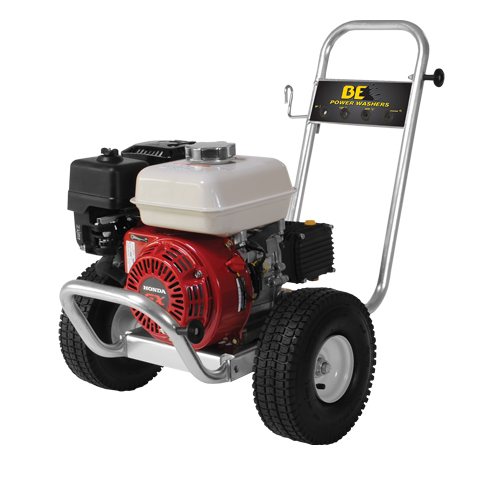 BE Pressure PE-2565HWAARSP Aluminum Frame Cold Water Pressure Washer Honda Engine 2700psi 3gpm