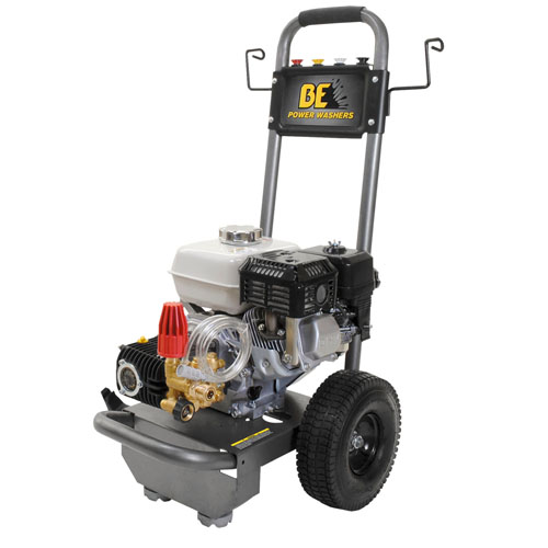 BE Pressure Supply B2565HG B-Frame Pressure Washer 2500psi 3gpm Honda gas engine