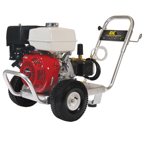 BE Pressure PE-4013HWPAGEN Aluminum Frame Cold Water Pressure Washer Honda Engine 4000psi 4gpm
