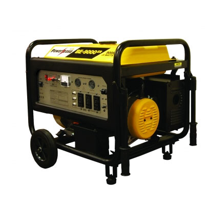 BE Pressure BE-9000ER PowerEase 9000 watt Generator Electric Start 7100 watt run BE9000ERUSC 420cc