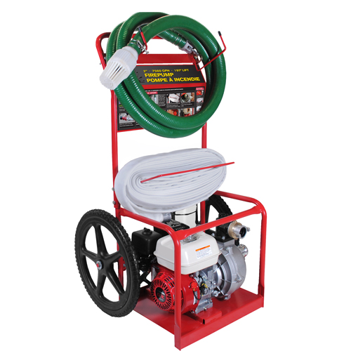 BE Pressure HPFC-2070R 2inch Fire Fighting Cart