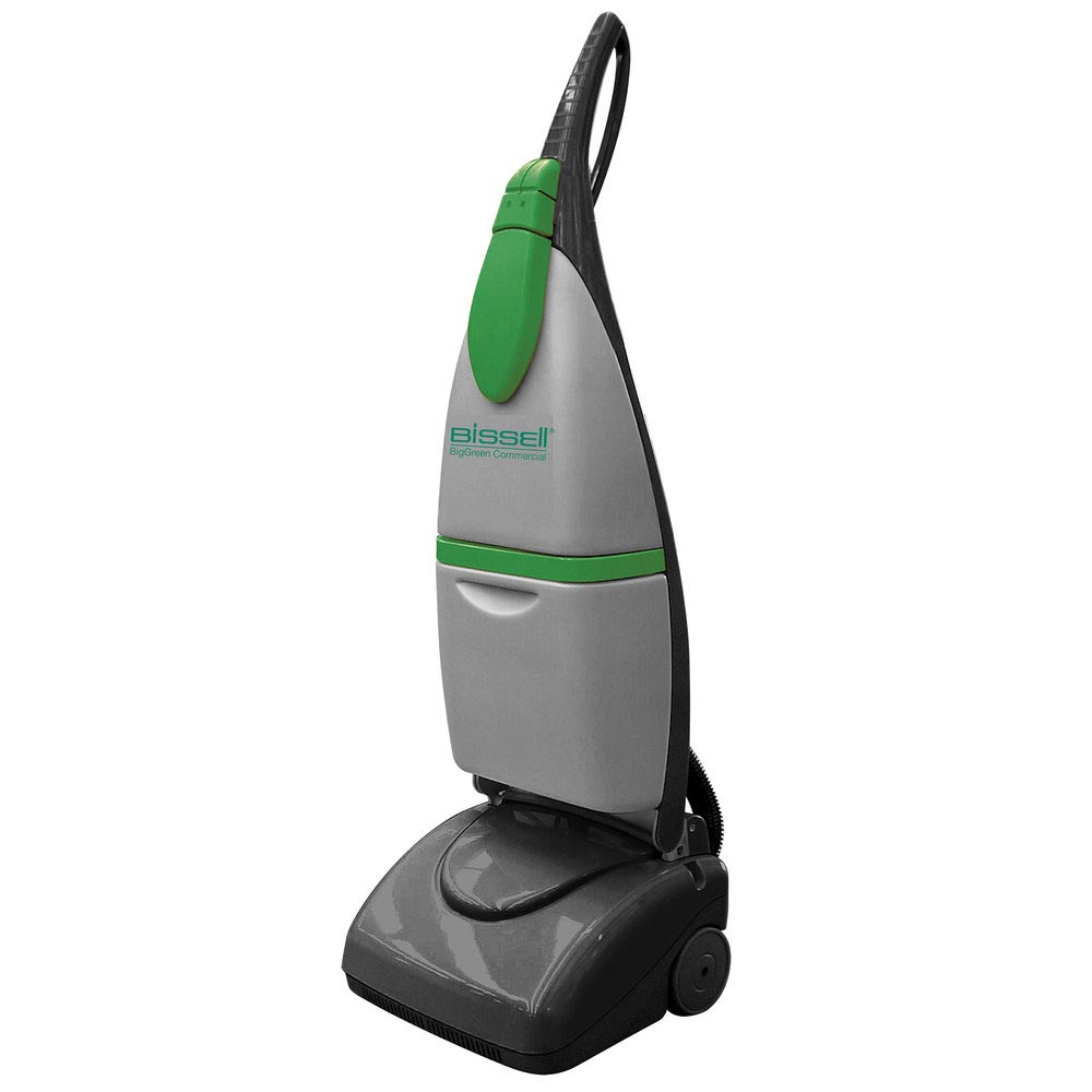 Bissell bgus1000 biggreen light duty upright floor for Floor scrubber
