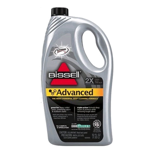 Bissell 49G5 32oz 2X Advanced Formula with Scotchgard  Cleaner defoamer odor neutralizer carpet refresher All in one