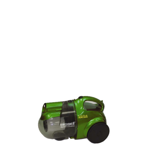 Bissell BGC2000 Little Hercules Canister Vacuum with wheels
