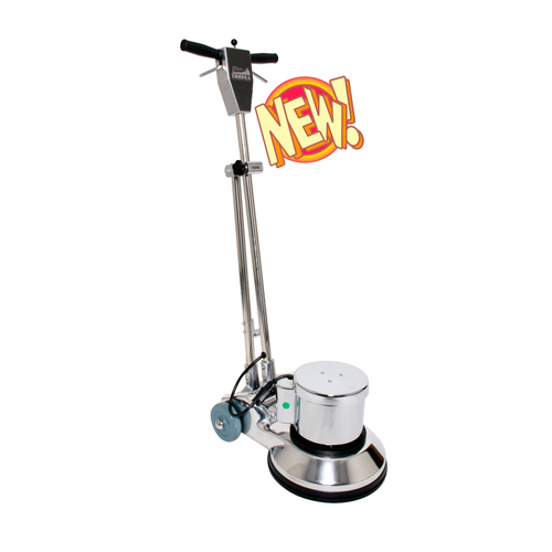 Boss Cleaning Equipment B001506 Tundra PRO VERSION Buffer Scrubber Rotary Floor Machine with Pad DriverPRO 1hp 175rpm 13inch 121 lbs