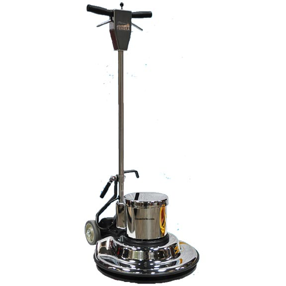 Boss Cleaning Equipment B001572 Tundra TL17 Inch STANDARD Buffer Scrubber Rotary Floor Machine 1.5hp 175rpm 126 lbs