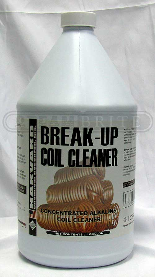 HCR 5864-4 Break up Alkaline Coil Cleaner - 4/1 Gallon Case Harvard