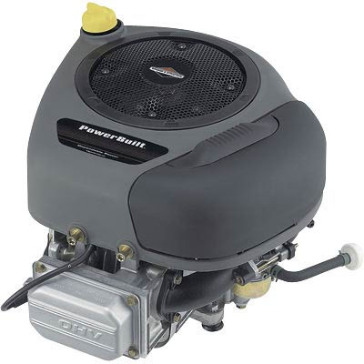 Briggs & Stratton: Powerbuilt Vertical Engine with Electric Start 10.5 HP 1in. x 3 5/32in Shaft 215807-0025-G1-70920