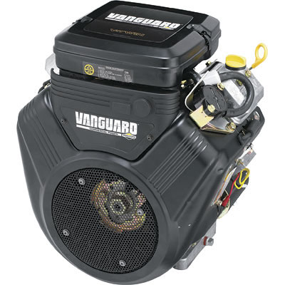 Briggs & Stratton Vanguard V-Twin Horizontal Engine 21 HP 1in. x 2 29/32in Shaft 386447-3079-G1  60231