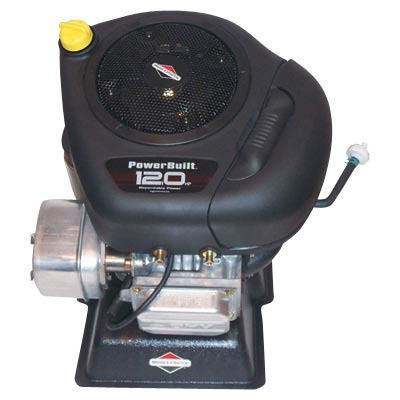 Briggs & Stratton: Powerbuilt Vertical Engine with Electric Start 12.5 HP 1in. x 3 5/32in Shaft 219707-0026-E1-70123
