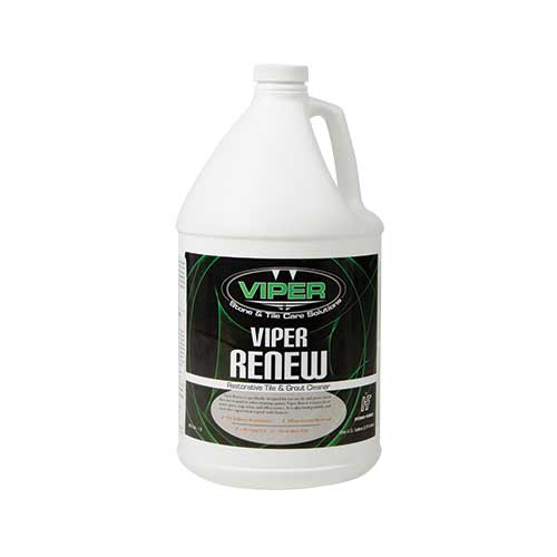 Viper Renew Tile And Grout Cleaner Acid Side CH49GL  1636-0582  108356 4/1 Gallon CASE