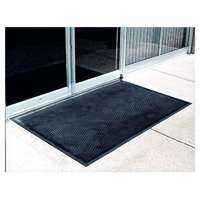 Crown: 4ft x 6ft Black Scraper Mat (Black)