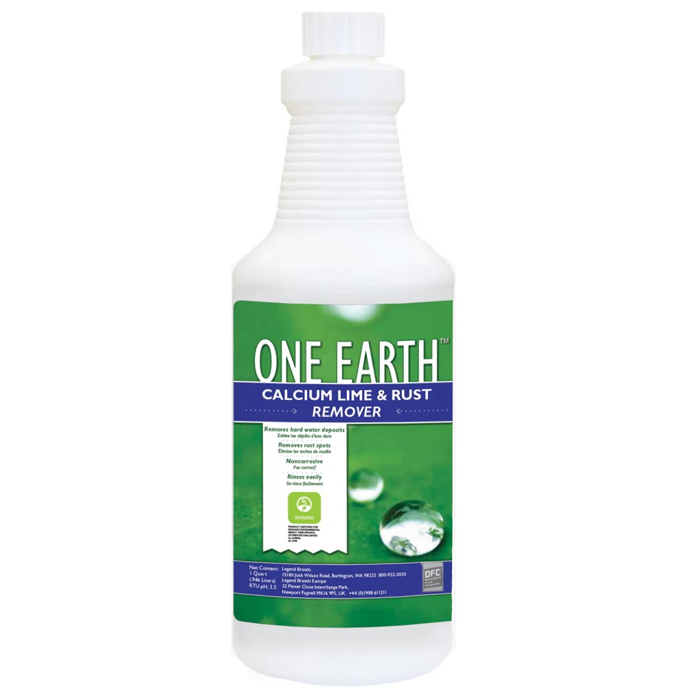 Chemspec C-DFCCLRCS One Earth Calcium Lime and Rust Remover 12/1 qt Case