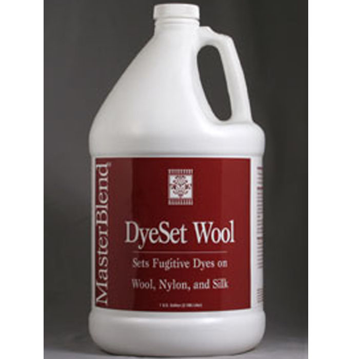 MasterBlend 166106 DyeSet Wool  (4Gallon Case) UPC 672835166154