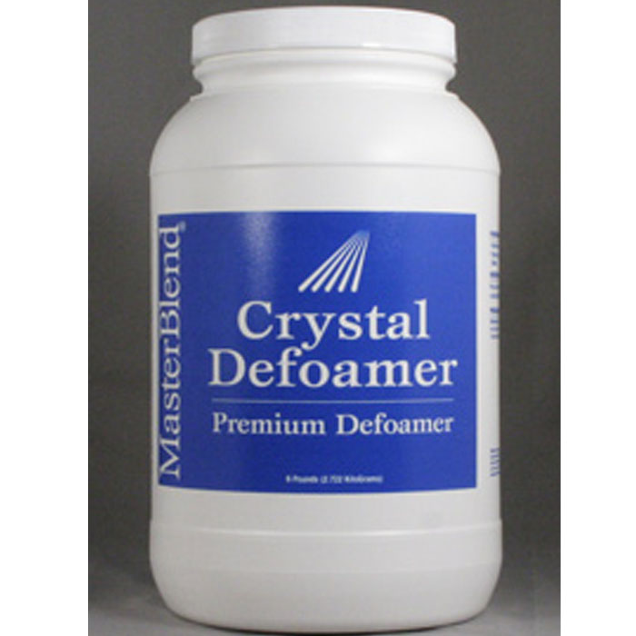 MasterBlend 132106 Crystal Defoamer   (Case of 4 six lb Jars) UPC 672835132159