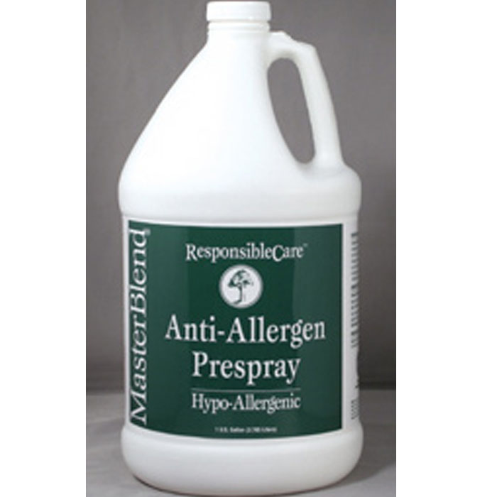 MasterBlend 110606 Anti-Allergen Prespray (4 Gallon Case) Allergy Control Treatment UPC 672835110652