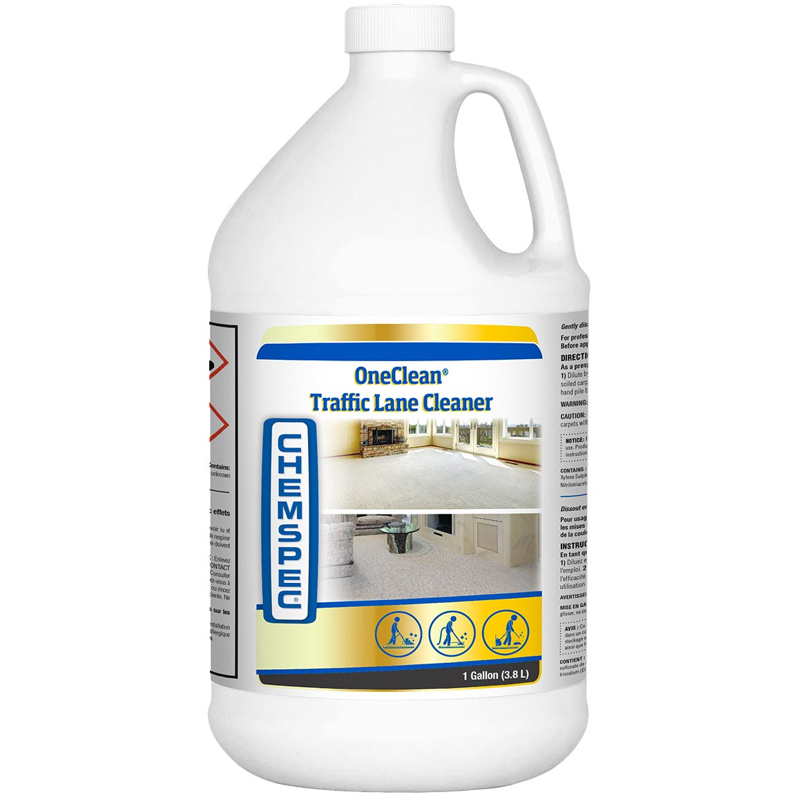 Chemspec C-OCTLC4G One Clean Liquid 1 Gallon [LOC1G] OneClean UPC 091965010586