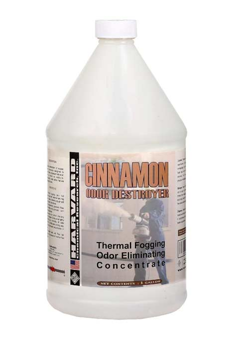 Harvard Chemical 6441 Cinnamon Odor Destroyer Thermal Fogging Odor Eliminating Concentrate 1 gallon