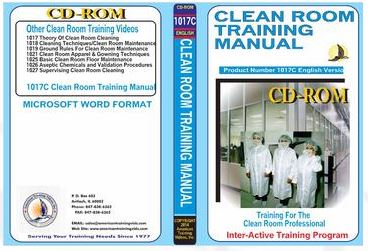 American Training Videos Clean Room Series 1017C Clean Room Training Manual