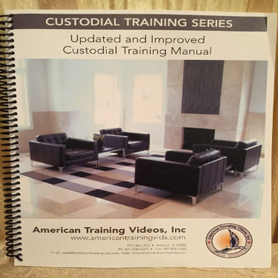 American Training Videos Custodial Series 1001C Custodial Training Manual W/Test