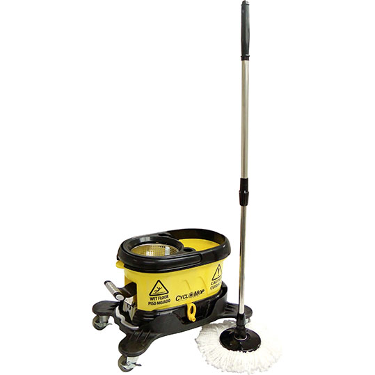 Commercial Mop : Cyclomop Cm500 Commercial Spin Mop Without Dolly Wheels Free Shipping ...