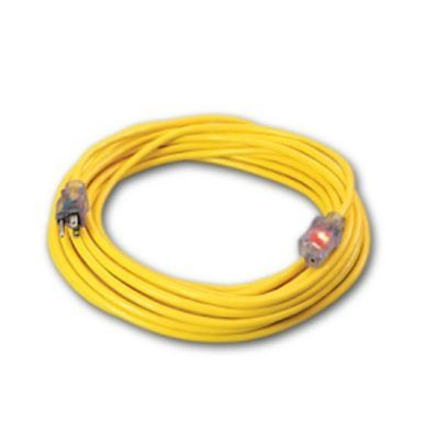 Extension Power Cord 12-3 X 50 ft 115 volt Lighted Ends AX33 860831 Mytee E530  M1394  860831  D16612050