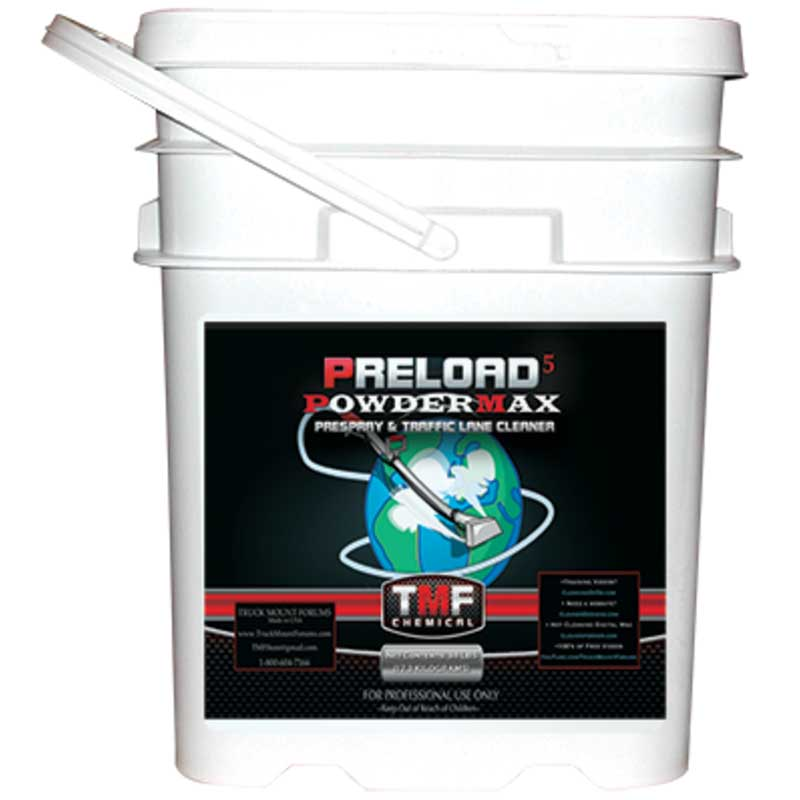 HydroForce: Preload 5 Carpet Cleaning Pre Spray TMF - 38lbs Jar