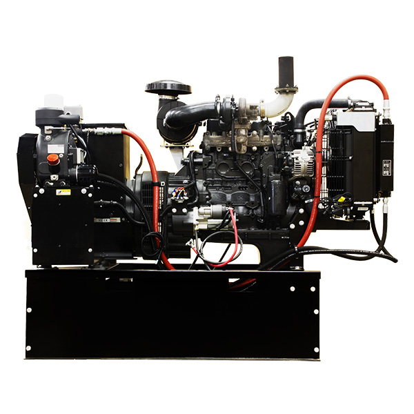 Winco DE4040F Diesel Generator 40kW PLUS Air Compressor Combination 40 CFM @120 psi With 54 Gal Tank