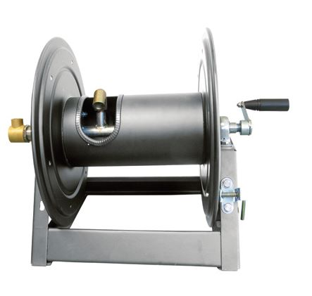 General Pump Heavy Duty Swivel 5000 psi X 3/8 X 300 ft capacity hose reel DHRA50300