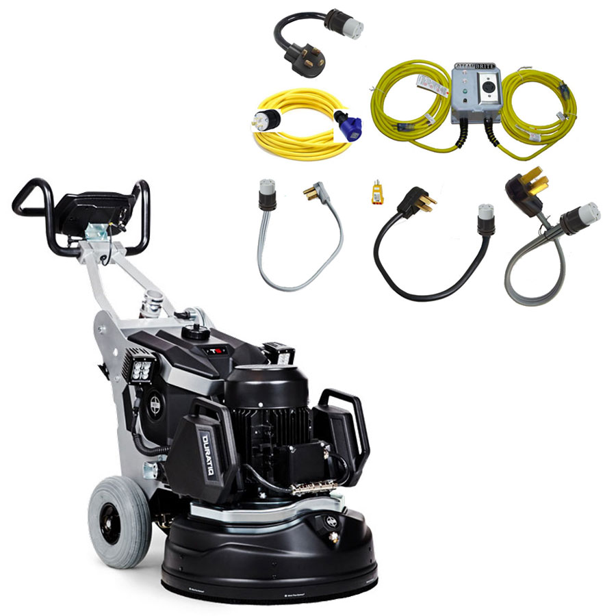 Husqvarna 967863601 HTC T5 Duratiq 5 Concrete Grinder Professional Power Cord Set Freight Included Bundle 51349554 22.4 Inches