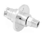 Mosmatic 38.051 Swivel with flange, Ceramic DXF 1/4 in. NPT F 1/4 in. NPT M