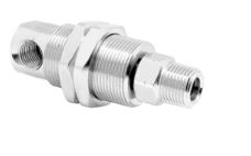 Mosmatic 37.351 90° Swivel with bulkhead fitting, Ceramic DXG-90° 1/4 in. NPT F 1/4 in. NPT M
