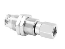 Mosmatic 57.052 Swivel with bulkhead fitting, Carbide DYG 1/4 in. NPT F 1/4 in. NPT F