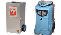 Restoration Equipment air mover air scrubber dehumidifier phoenix 200 max phoenix thermastor restoration commercial drying