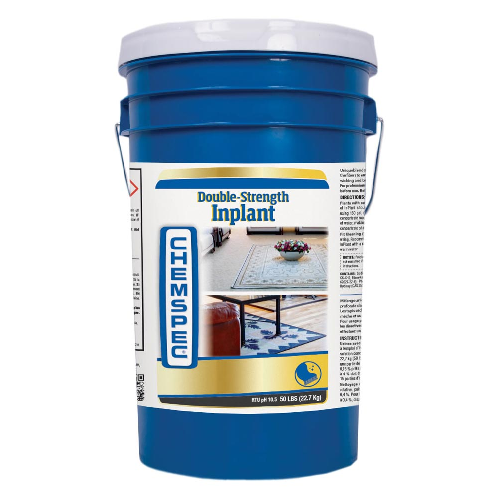 Chemspec C-INDTBK Double Strength In Plant Wool Safe Oriental Rug Cleaner 50 lbs Pail Included Shipping