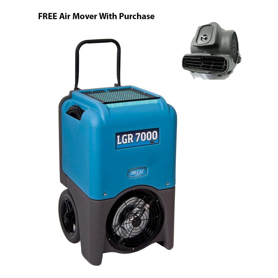 DriEaz F412 Drizair LGR 7000XLi Industrial Restoration Dehumidifier AC629 Air Mover and Freight Included