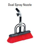 IPC Eagle SBDS 14 in. Speed Brush w/Dual Spray Nozzles