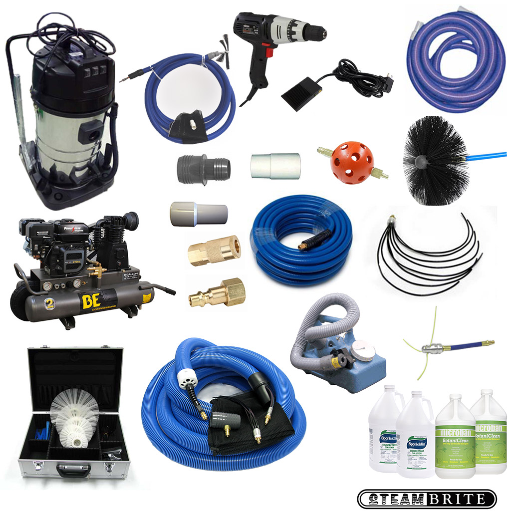 Clean Storm DuctMaster Complete Air Duct Cleaning and Care System CE3048