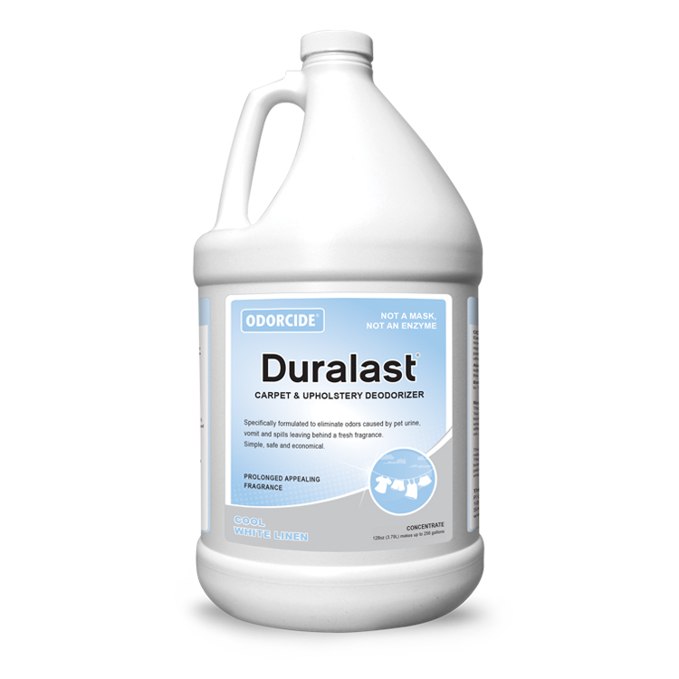 Odorcide 210 Duralast Cool White Linen Master Case (4-1 Gallon Bottles)