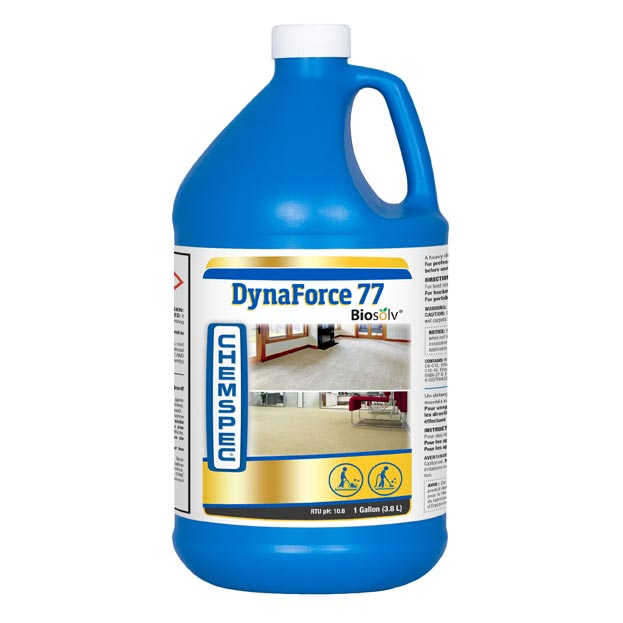 Chemspec C-LF774G DynaForce 77 Extraction Cleaner for Portables and Truckmounts 1 Liquid Gallon