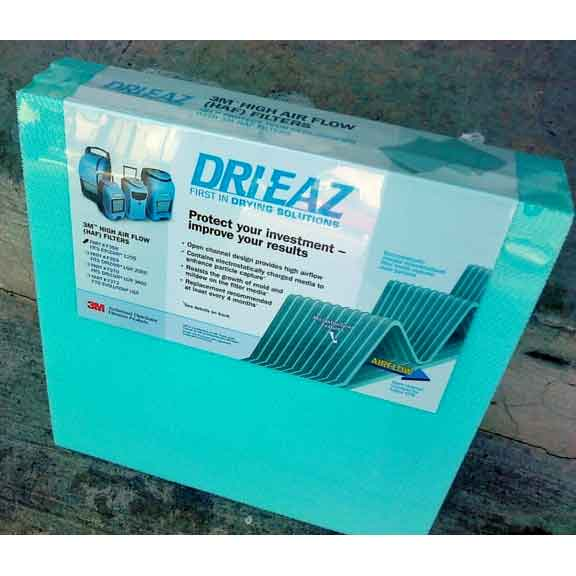 Drieaz F368 3M Drizair 7000XLi and 1200 F203 HAF Filter Pak of 3 [F368-3]