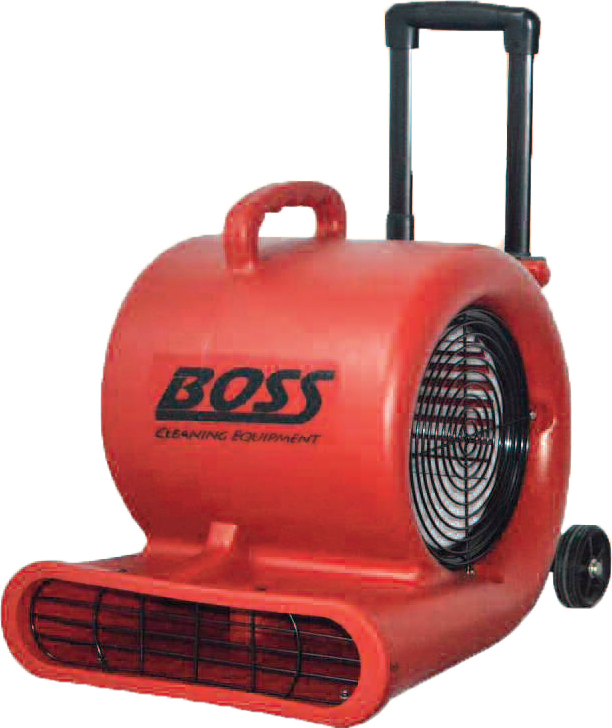 Pullman Holt Boss F600 With Dolly Air Mover 2500 CFM with 1/2 HP On Wheels 3-speed 4.7 amp motor B001544