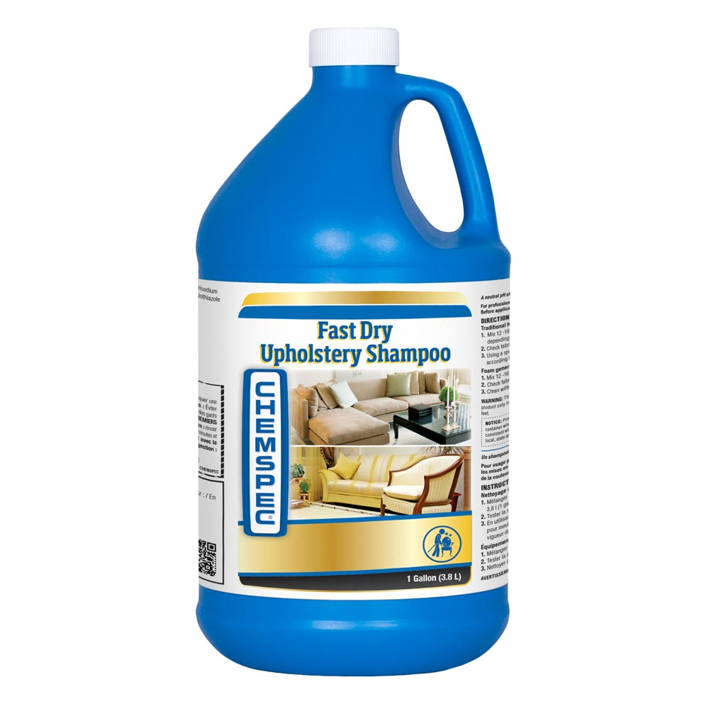 Chemspec C-FDUS4G Fast Drying Upholstery Shampoo 4/1 Gallon Case (Half Price Shipping)