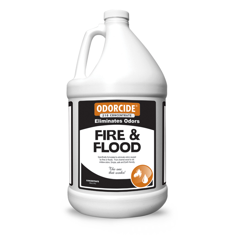 Odorcide 210 Fire and Flood Smoke Concentrate Master Case (4-1 Gallon Bottles)