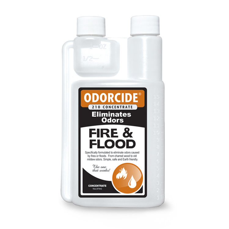 Odorcide 210 Fire and Flood Concentrate Master Case (2-12 packs of 16 oz. bottles)