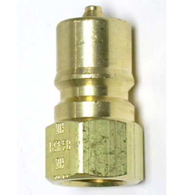 Foster FK2B Bretco 1/4in Male Brass Quick Disconnect QD Nipple Plug Coupler QD40